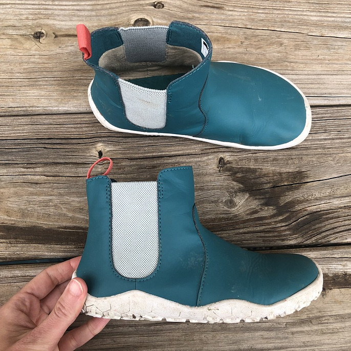 Vivobarefoot kid's barefoot shoes Fulham boot