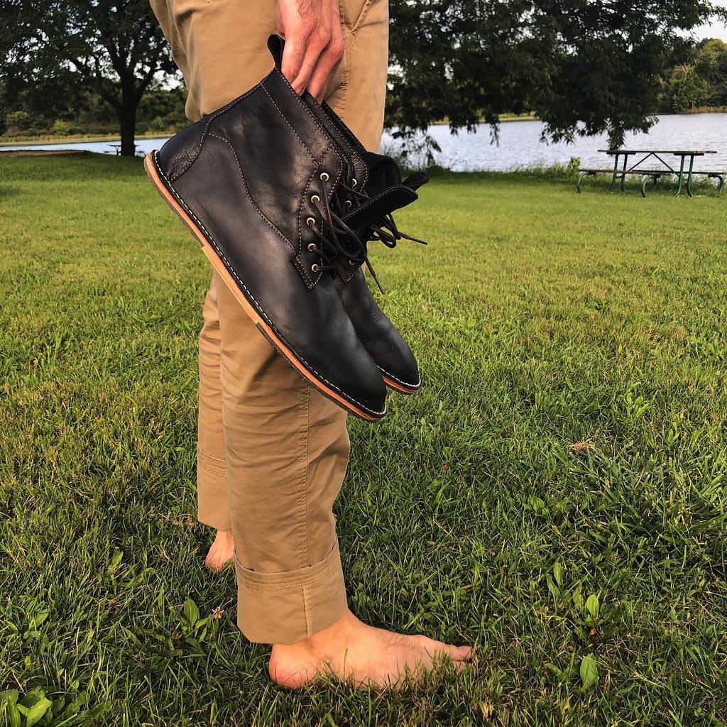 Men's Barefoot Dress Shoes - Complete