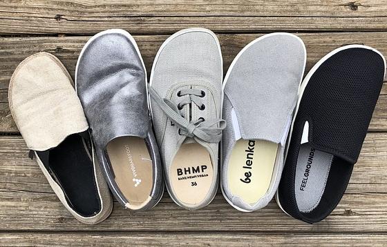 Feelgrounds droptop and Belenka Eazy, Bohempia, Vivobarefoot, Unshoes barefoot shoe review