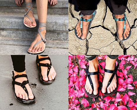 Luna Sandals running sandals and traditional leather sandals