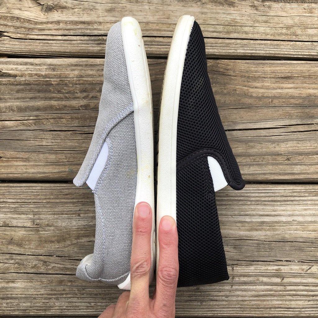 Feelgrounds droptop and Belenka Eazy barefoot shoe review