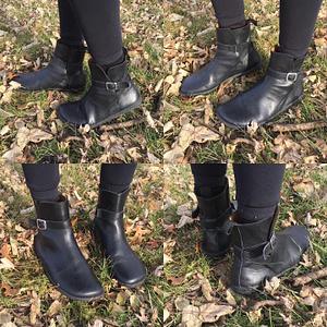 Zaqq barefoot shoes brand review black riquet boot