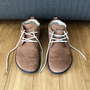 Belenka Icon barefoot shoe review cognac
